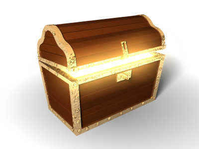 Christmas Treasure Chest   Walking With God