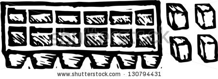 Ice Tray Stock Photos Images   Pictures   Shutterstock