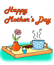 Mothers Day Clip Art Happy Mothers Day Breakfast Tray Jpg