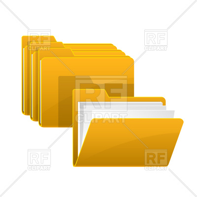 Open Folder 4689 Icons And Emblems Download Royalty Free Vector