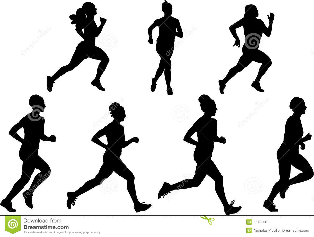 Silhouette Free Running Images & Pictures - Moyuk