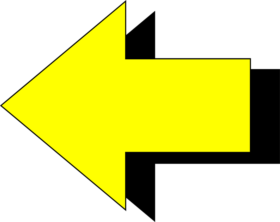Yellow Directional Arrows Free Cliparts All Used For Free