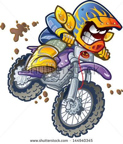 Clip Art Dirt Bike Clip Art dirt bike helmet clipart kid motorcycle rider making an extreme jump and splashing in the