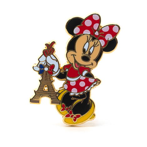 Disneyland Paris Minnie Mouse Pin   Pins   Disney Store