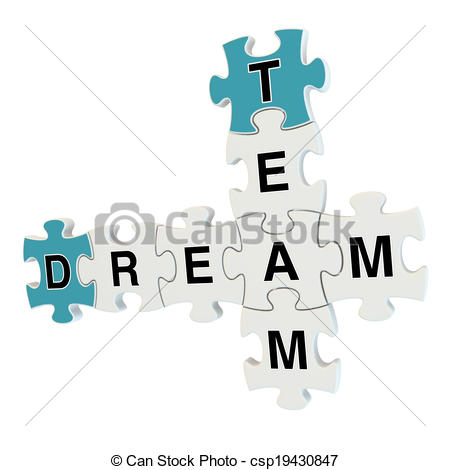 Dream Team Clip Art