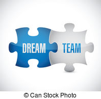 Dream Team Clip Art And Stock Illustrations  417 Dream Team Eps