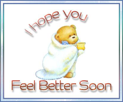 Feel Better Soon Clipart - Clipart Kid