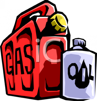 Gas Clipart 0511 0812 1404 0546 Gas Can And Quart Of Oil Clipart Image