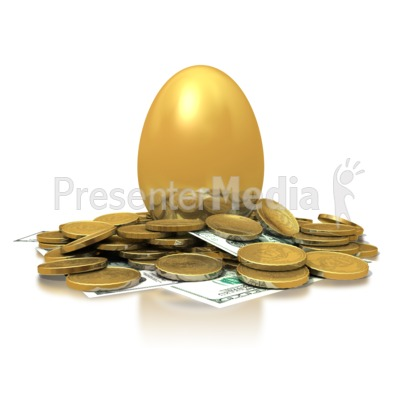 Golden Nest Egg   Business And Finance   Great Clipart For