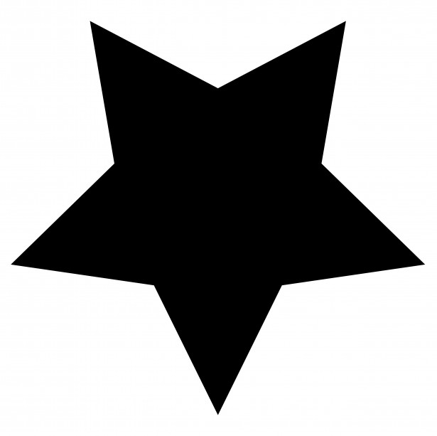 Star Clip Art Outline Black And White Clipart Panda Free Clipart