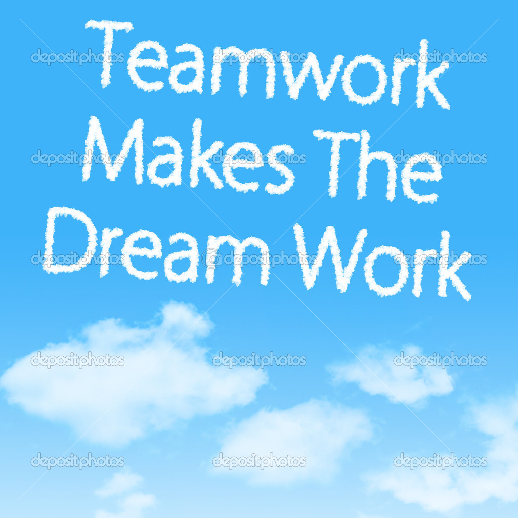 Teamwork Makes The Dream Work   Stock Photo   Nattapol  43973279