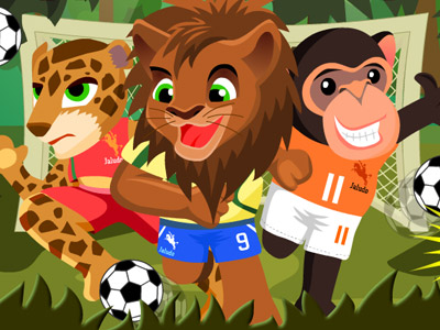 Animal Football 2010 A Funny Penalty Shootout Game With Wild Animals