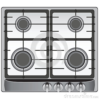 Image Gallery modern stove top