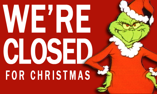 Closed For Christmas Images   Frompo