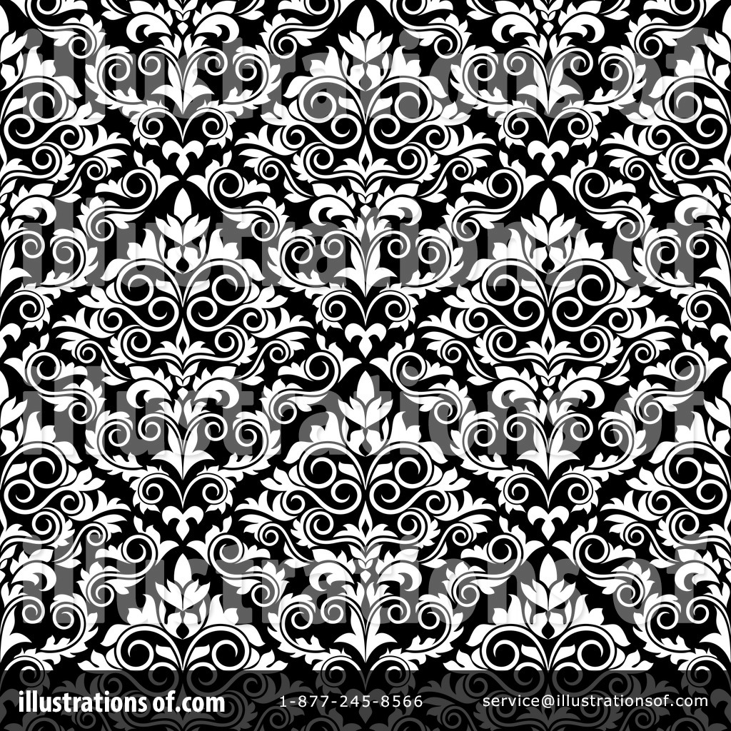 Damask Clipart  1094611   Illustration By Seamartini Graphics