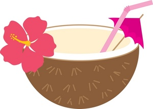 Clip Art Coconut Clip Art hawaiian coconut clipart kid drink image tropical drink