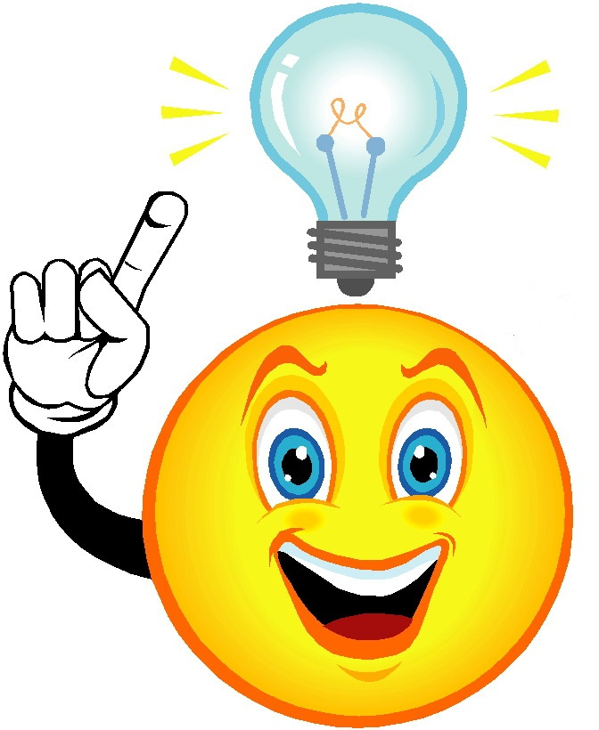Eureka Light Bulb Clipart - Clipart Kid