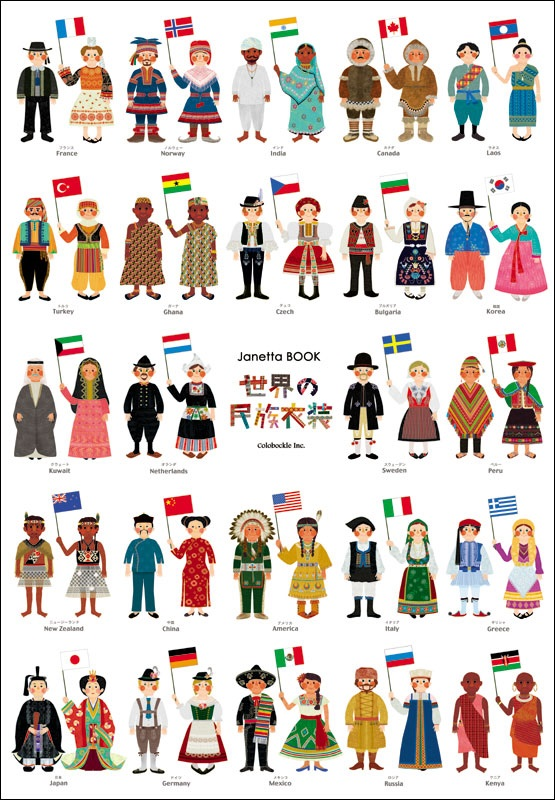 National Costumes   Lang 8  For Learning Foreign Languages