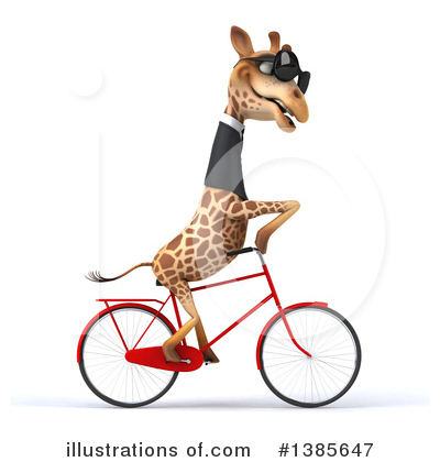 Royalty Free  Rf  Business Giraffe Clipart Illustration  1385647 By