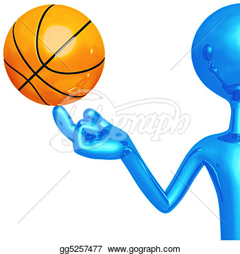 Stock Illustration   Spinning Basketball  Clipart Drawing Gg5257477