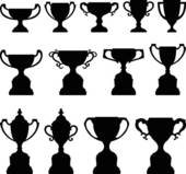 Trophy Clip Art Royalty Free  7143 Trophy Clipart Vector Eps