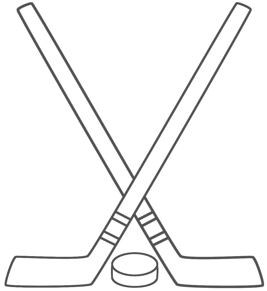 Hockey Stick Free Clipart - Clipart Kid