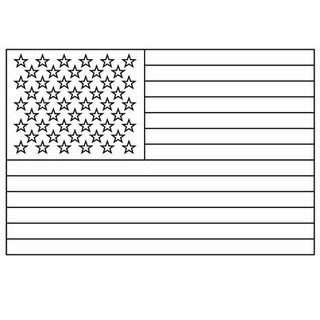American Flag Black And White Clipart - Clipart Kid