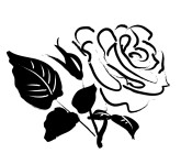And White Rose Border Clip Art   Clipart Panda   Free Clipart Images
