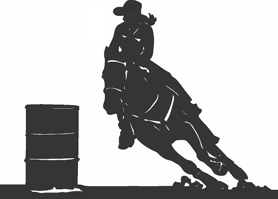 Barrel Racer Racing Clipart Clipart Suggest