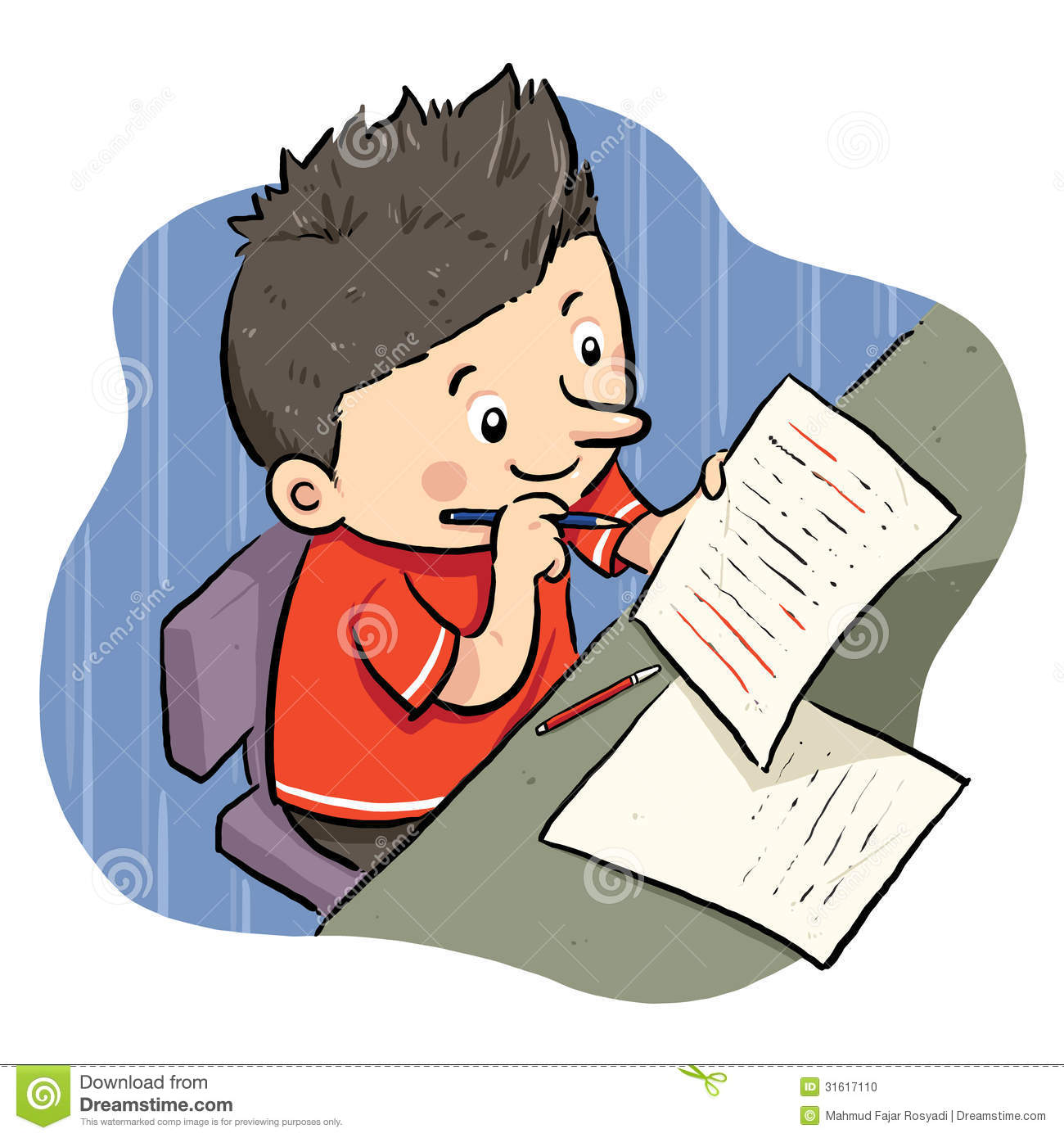 Doing Homework Clipart Clipart Panda Free Clipart Images - Clipart Kid