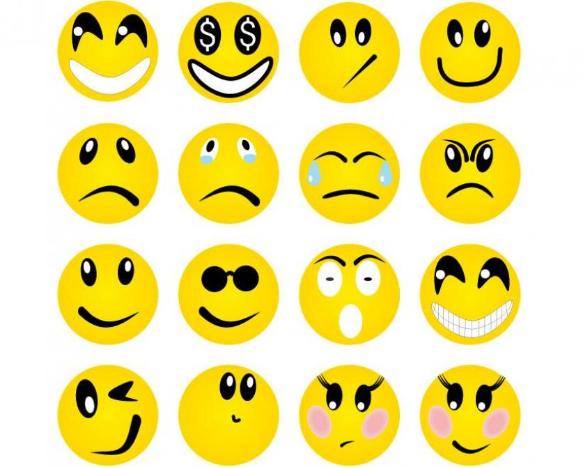 Worksheets Emotion Faces emotion faces clipart kid best