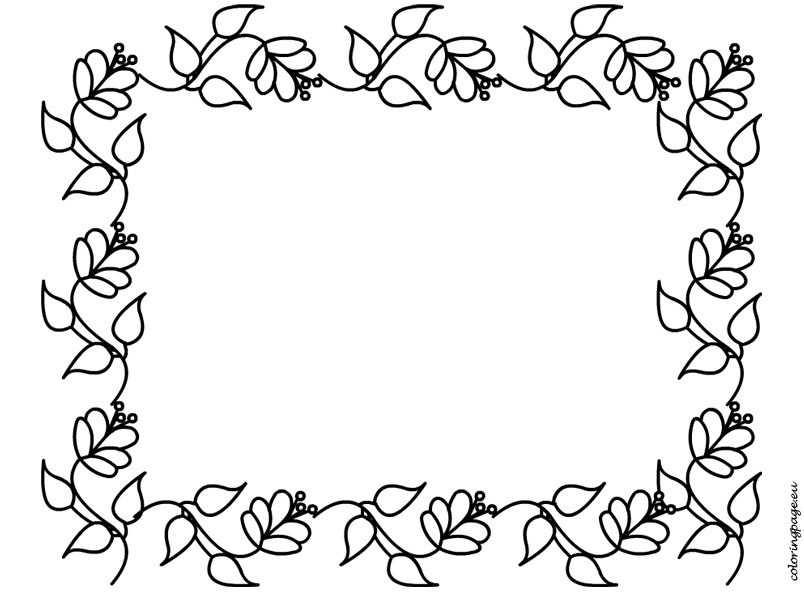 Mother S Day Border Clip Art Cliparts
