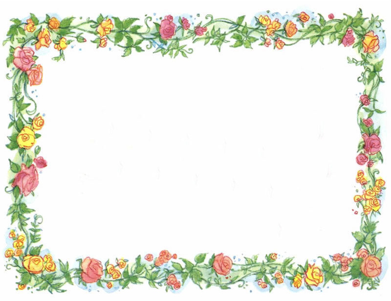 Mother's Day Border Clipart - Clipart Kid