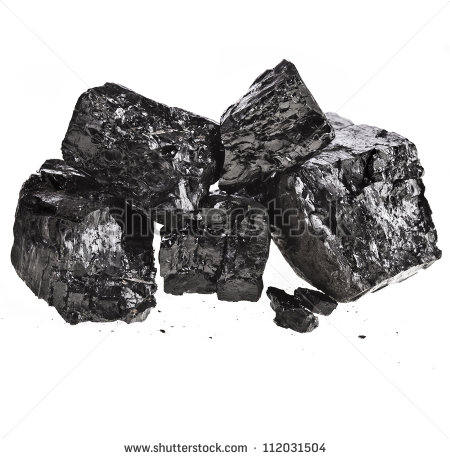 Piece Of Coal Clipart Pile Of Fractured Black Coal