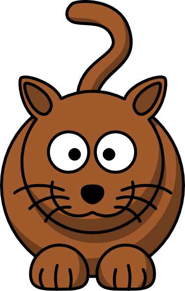 12161397191917421375lemmling Cartoon Cat Svg Hi