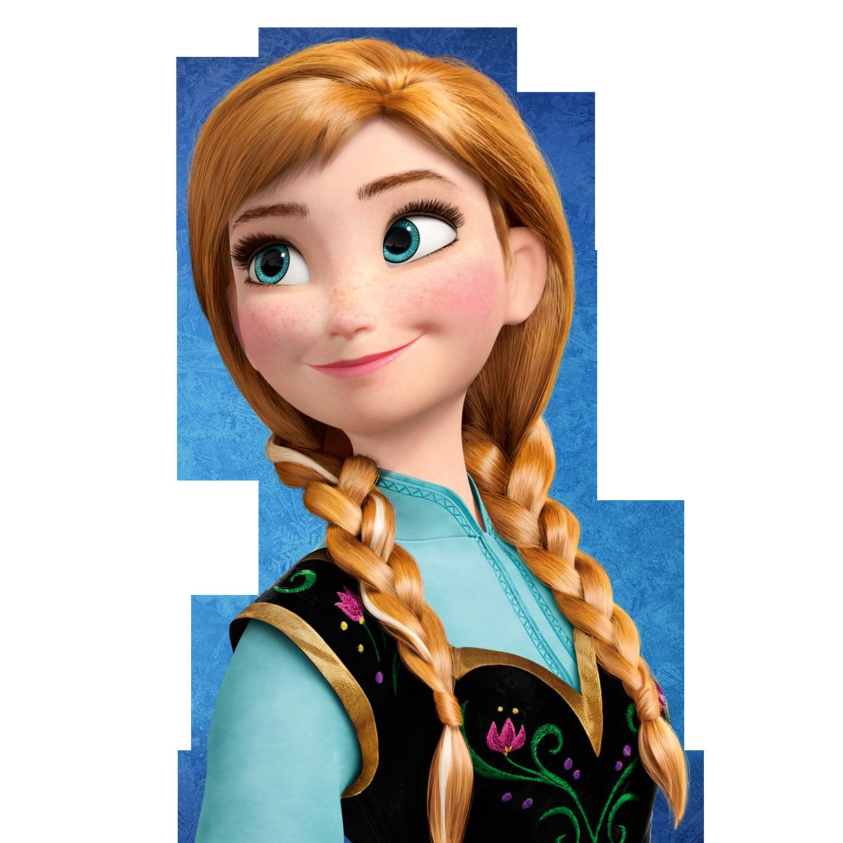 Frozen Anna Clipart - Clipart Kid