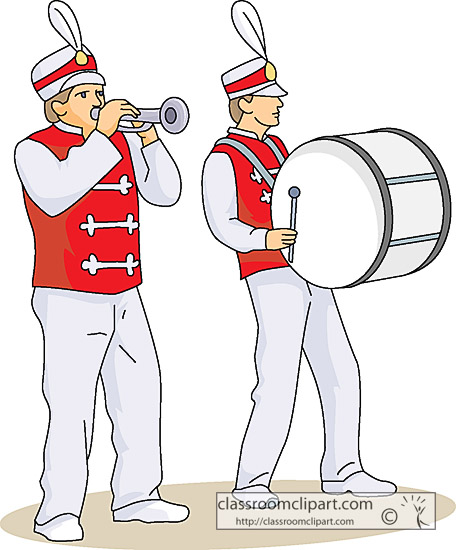 Band Clipart Headline Marching Band Keywords Band Music Marching Band