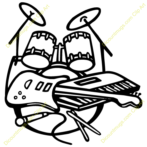 Band Instruments Clip Art Rock Band Instruments