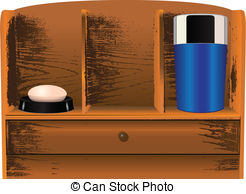 Bathroom Cabinet Stock Illustrations  232 Bathroom Cabinet Clip Art