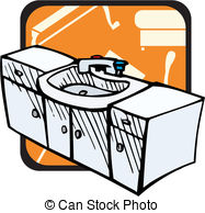 Bathroom Cabinet Stock Illustrations  324 Bathroom Cabinet Clip Art