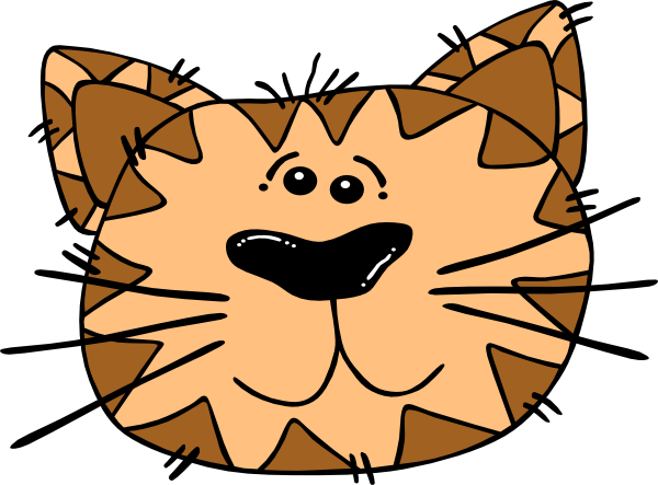 Cute Cartoon Cat Clipart - Clipart Suggest
