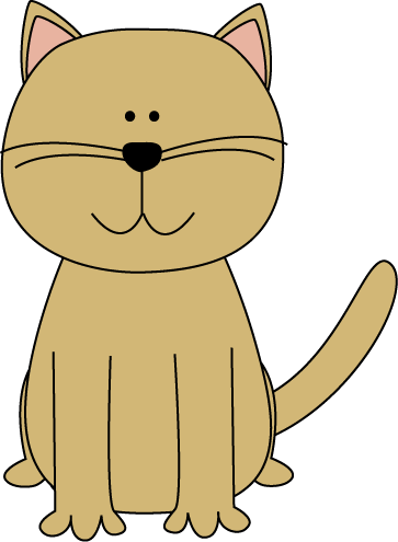 Cute Cartoon Cat Clipart - Clipart Kid