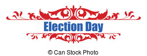Election Day Vector Clipart Eps Images  5743 Election Day Clip Art