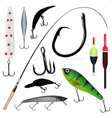 Fishing supplies clipart clipart suggest for Basic fishing gear