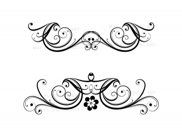 Wedding Flourish Clipart - Clipart Kid