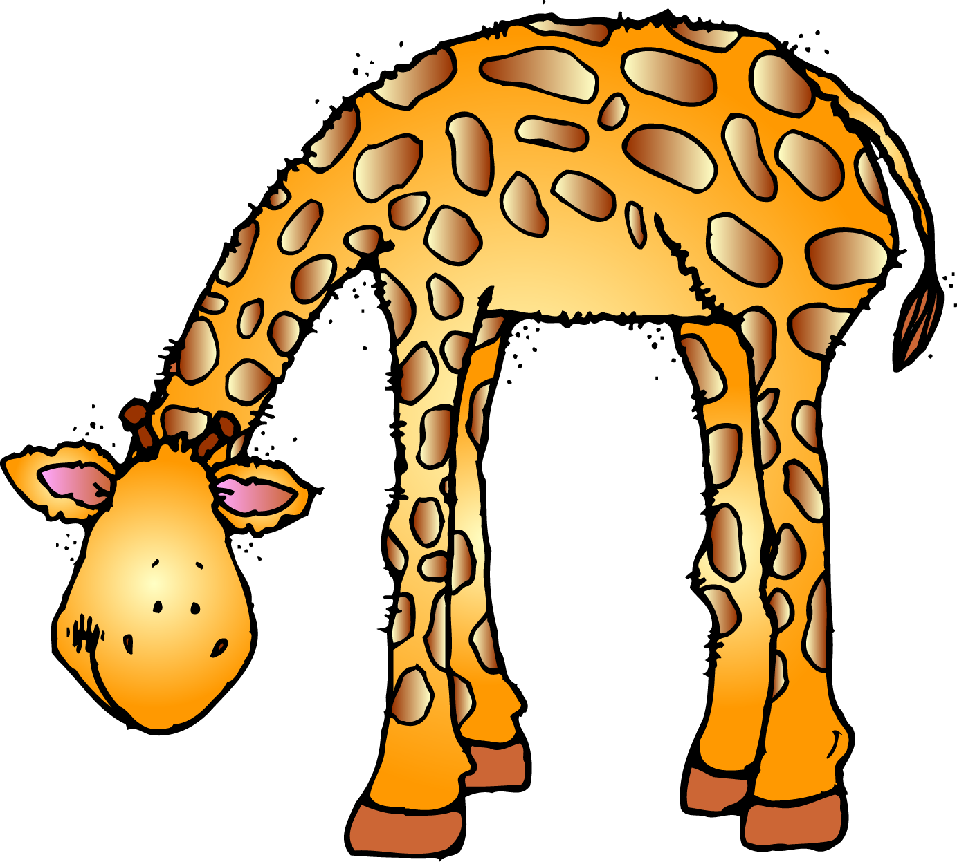 Cute Zoo Animals Clipart - Clipart Kid