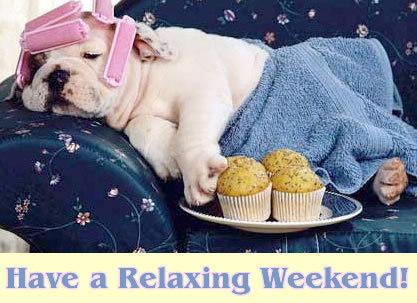 Znalezione obrazy dla zapytania relaxing weekend