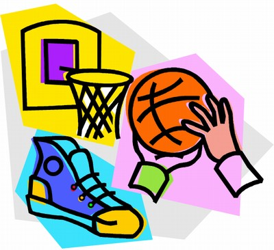 Free Sports Clipart Of Basketball Equipment  Sports Theme Colorful