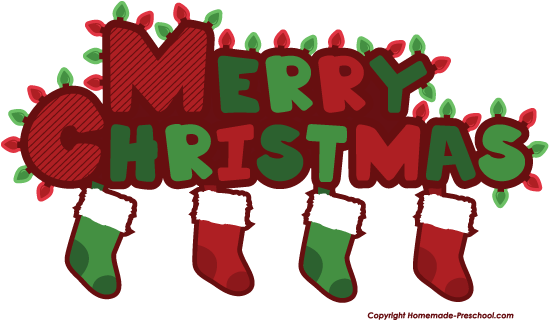 Home Free Clipart Christmas Clipart Merry Christmas Stockings