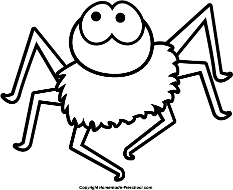 Home   Free Clipart   Halloween Clipart   Halloween Spider Blue